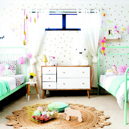 Habitaciones para niña