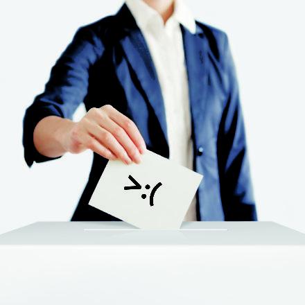 El voto del enojo
