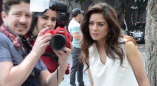 Behind the scenes Mimí Morales