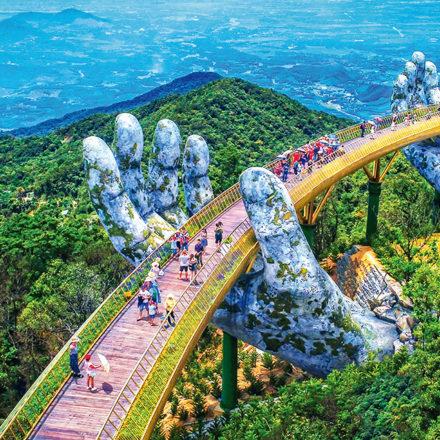 Puente Cau Vang · Vietnam