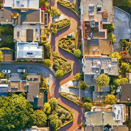 Lombard Street · La calle de las flores en San Francisco