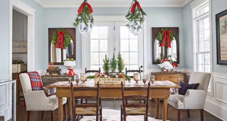 La decoración perfecta para tu cena de Navidad