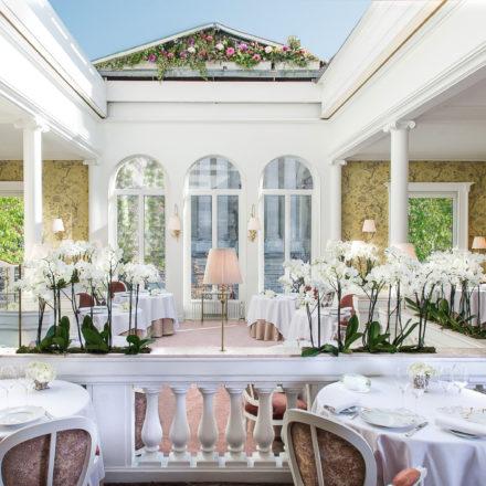 Restaurant Lasserre, una experiencia al paladar y a la vista