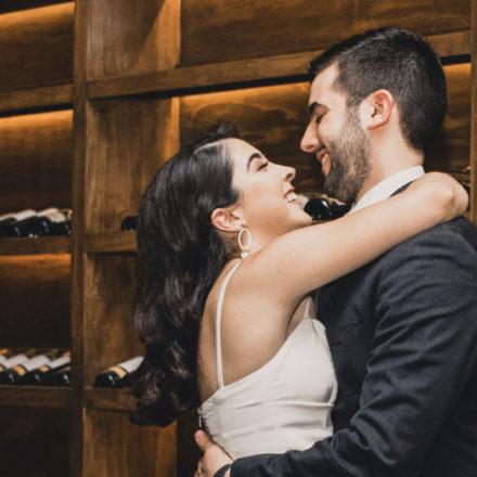 Formalizan su matrimonio Andrea Leos García y Juan Rafael Capobianco Ramos