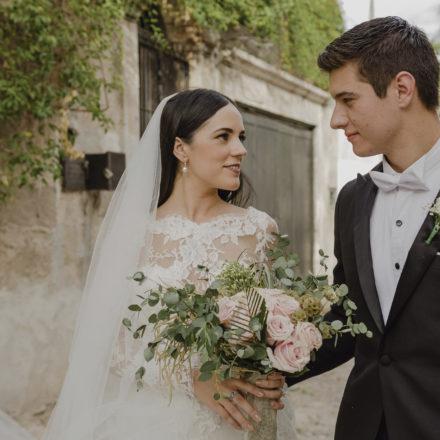 Relevante boda protagonizaron Melissa Robinson Bours Almada y Omar Castillo Littlewood