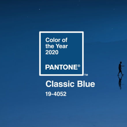 Pantone color of 2020: Classic Blue