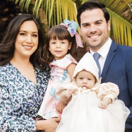 Recibe el sacramento del bautismo Jorge Alberto Aguirre Félix