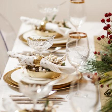 Transforma tu mesa de navidad