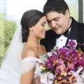 Elegante enlace de Kassandra Córdova Balderrama y Daniel Valenzuela Lemmen Meyer