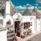 Los Trulli de Alberobello en Puglia, Italia