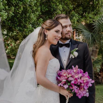 Enlace matrimonial de Javier Quirós Beltrones y Elsa Lucía Búrquez Ochoa
